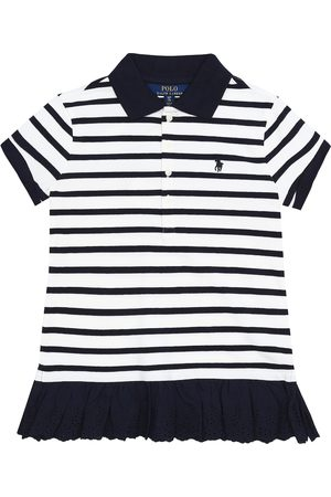 Ralph Lauren Striped stretch-cotton dress