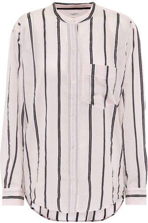 Isabel Marant, Étoile Olena striped cotton-blend shirt