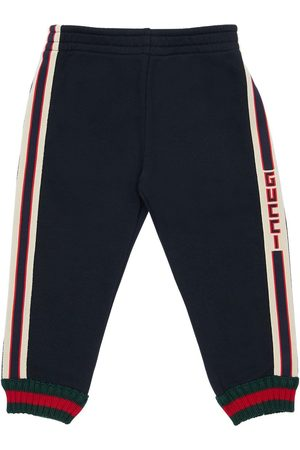 Gucci Logo Bands Cotton Sweatpants