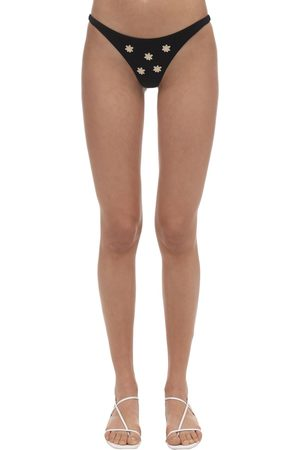 Anemone Embroidered Skimpy Bottoms