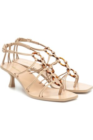 Cult Gaia Ziba leather sandals