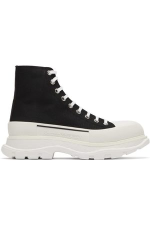 Alexander McQueen Chunky-sole Canvas Trainers - Mens