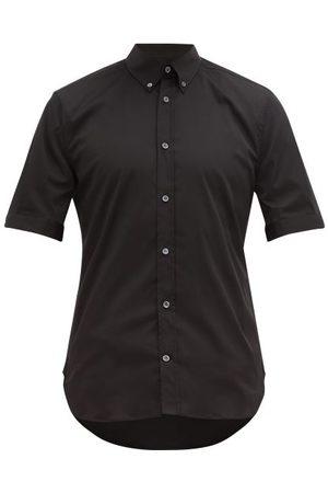 Alexander Mcqueen Brad Pitt Cotton-blend Poplin Shirt - Mens