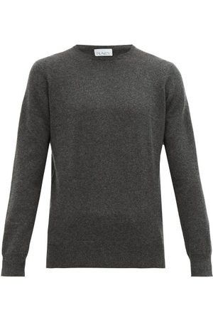 Raey Slim-fit Crew-neck Cashmere Sweater - Mens - Charcoal
