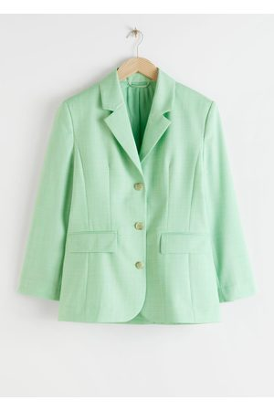 & OTHER STORIES Tailored Twill Blazer