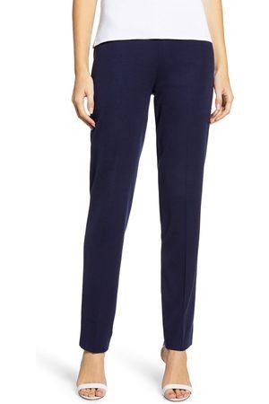 Ming Wang Women's Straight Leg Knit Pants