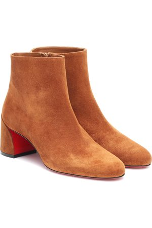 Christian Louboutin Turela 55 suede ankle boots