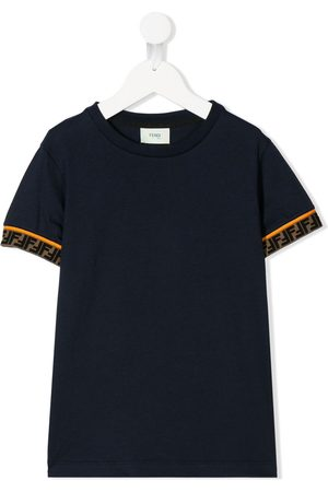 Fendi Double F logo-trim T-shirt