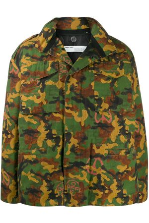 OFF-WHITE Camouflage padded field jacket - Multicolour
