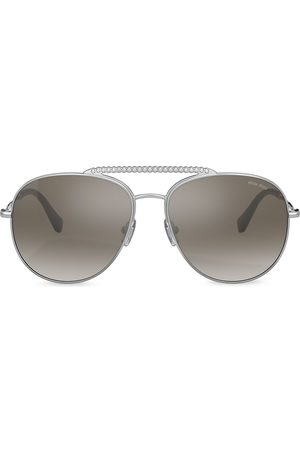 Miu Miu Eyewear Embellished aviator sunglasses
