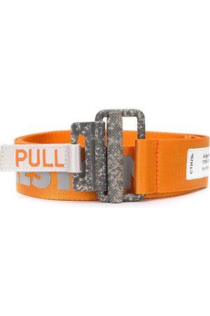 Heron Preston Men Belts - Reflective tape belt
