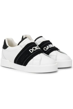 Dolce & Gabbana Logo band slip-on sneakers