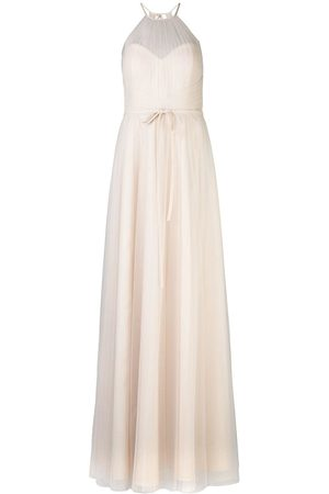 Marchesa Notte Bridesmaids Halterneck tulle bridesmaid gown