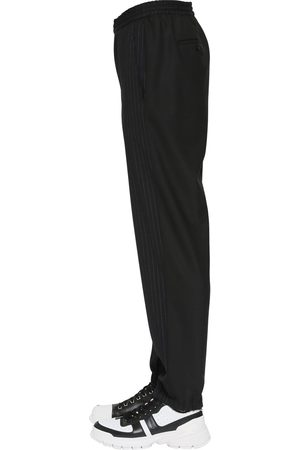Neil Barrett Pinstripe Stretch Cotton Pants