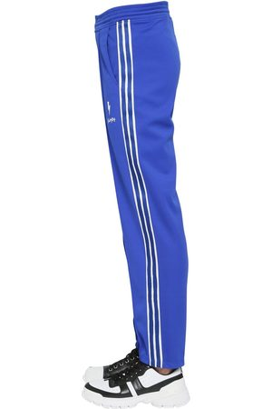 Neil Barrett Logo Techno Jersey Pants