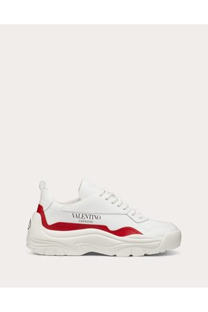 VALENTINO GARAVANI Gumboy Sneaker In Calfskin Women /pure 100% Pelle Bovina - Bos Taurus 36