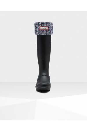 Hunter Original Cable Cuff Tall Boot Socks