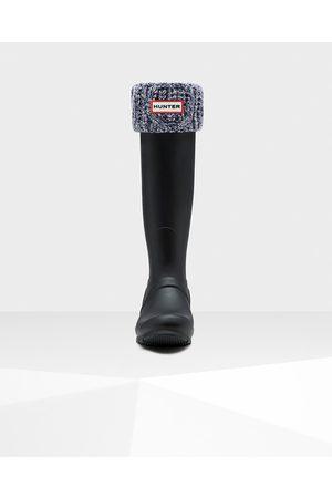 Hunter Original Cable Cuff Tall Boot Socks