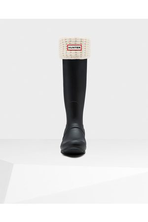 Hunter Original Waffle Cuff Tall Boot Socks