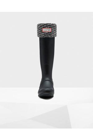 Hunter Original Plaited Directional Rib Tall Boot Socks
