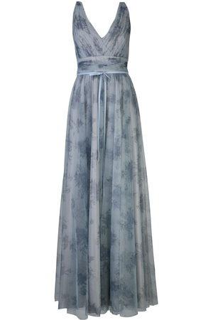 Marchesa Notte Bridesmaids Tulle floral bridesmaid gown