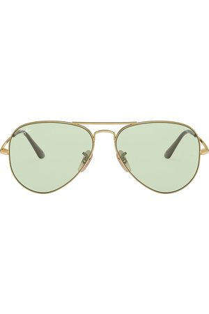 Ray-Ban Two-tone aviator-frame sunglasses
