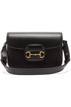 Gucci 1955 Horsebit Grained-leather Shoulder Bag - Womens