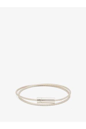 Le Gramme 9g Polished Sterling- Cable Bracelet - Mens