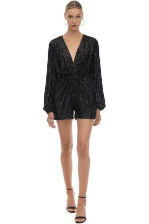 In the Mood for Love Sequined Romper
