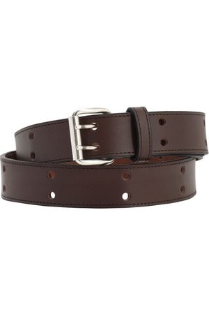 A.P.C 28mm Marc Leather Belt