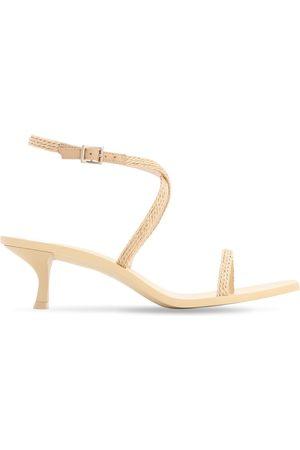 Cult Gaia 30mm Banu Faux Leather Sandals