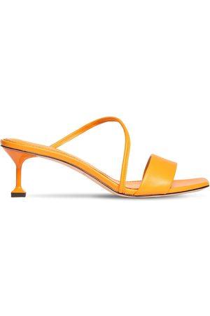 MARA&MINE 35mm Leather Mule Sandals