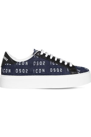 Dsquared2 Women Sneakers - 30mm New Tennis Printed Sneakers