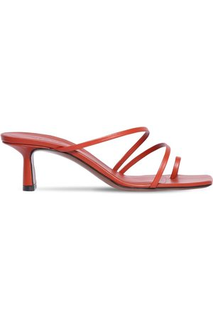 Neous 55mm Leather Toe Ring Sandals