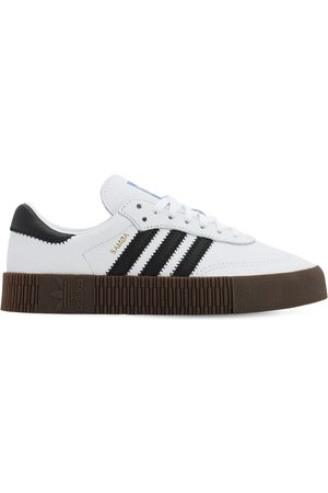 adidas Sambarose Leather Sneakers