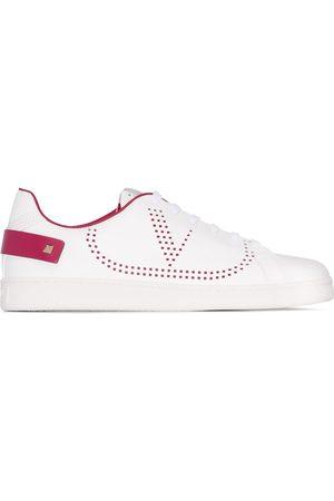 VALENTINO Garavani Backnet perforated sneakers