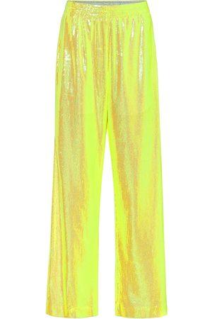 MM6 MAISON MARGIELA Sequined wide-leg pants