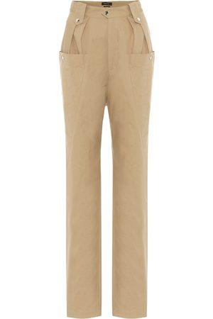 Isabel Marant Yerris high-rise straight pants