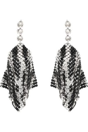 Isabel Marant Crystal-embellished mesh earrings