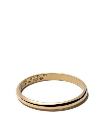 Le Gramme 18kt polished Le 2 Grammes half bangle ring