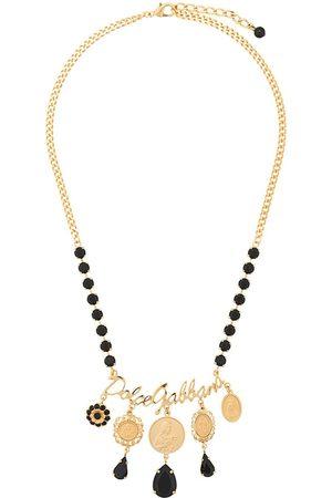 Dolce & Gabbana Women Necklaces - Votive motif medallion necklace