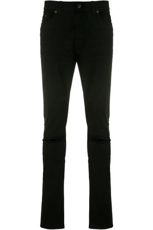 Saint Laurent Slash knee skinny jeans