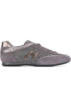 Hogan Metallic low-top sneakers - Grey