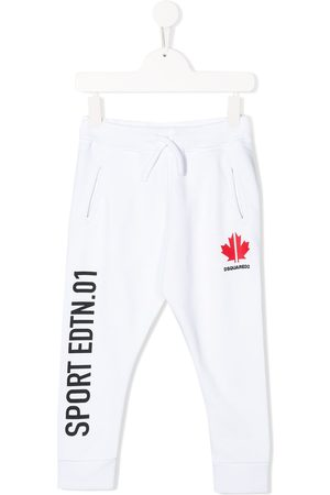 Dsquared2 Boys Sweatpants - Straight leg track trousers