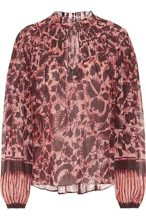 ULLA JOHNSON Yulia cotton-blend blouse
