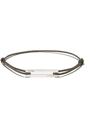 Le Gramme 17/10g cord bracelet - /Khaki