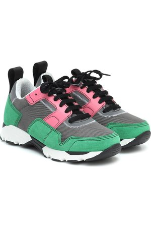 Marni Mesh and suede sneakers