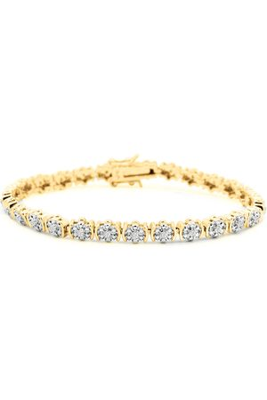 SuperJeweler Women Bracelets - 1/2 Carat Diamond Flower Bracelet