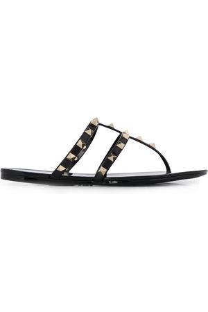 VALENTINO GARAVANI Women Flat Shoes - Rockstud flat sandals