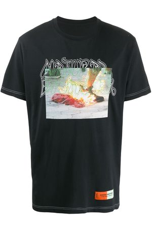 Heron Preston T-shirts - Photo print T-shirt